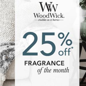 Shop hier de WoodWick Geuren van de Maand