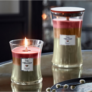 WoodWick Candle Trilogy
