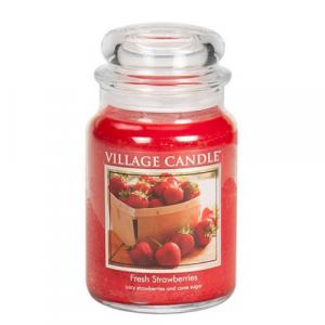 Village Candle Fresh Strawberries