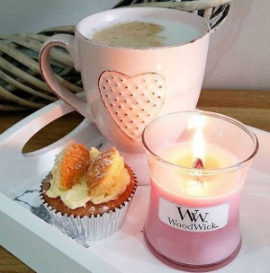 WoodWick Candle op Geur