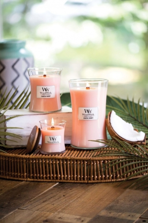 WoodWick Candle op Product