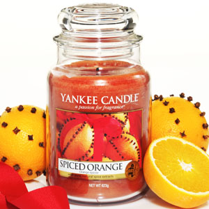 Yankee Candle Spiced Orange